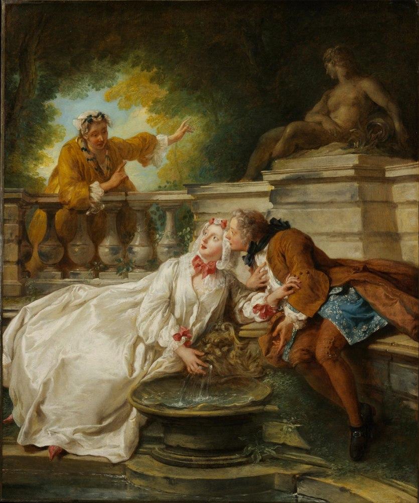 Jean-François de Troy - The alarm