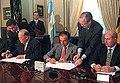 Jean-Luc Dehaene and Carlos Menem 05.jpg