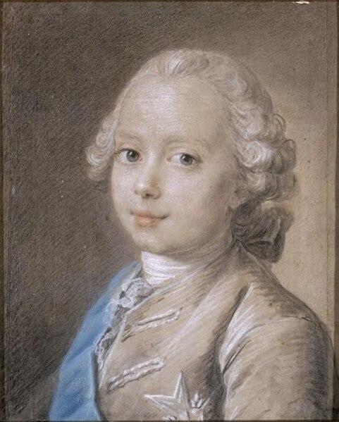 Fichier:Jean-Martial Frédou, Louis-Joseph-Xavier de France, duc de Bourgogne (1760).jpg
