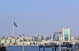 Jeddah City in Makkah Province, Saudi Arabia
