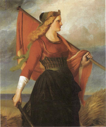 Elisabeth Jerichau Baumann: Moder Danmark