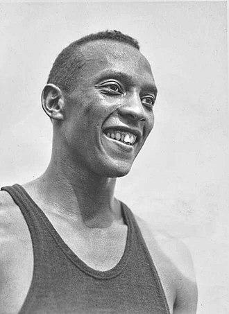 Jesse Owens - Jesse Owens in 1936