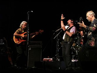 Jethro Tull (band) - Jethro Tull performing in Jerusalem, 2007