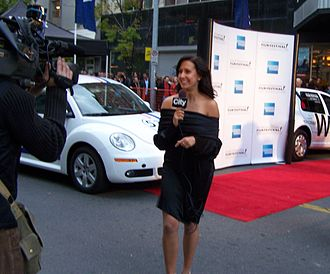 City (TV network) - Jill Belland covering the 2007 Calgary International Film Festival for Citytv.