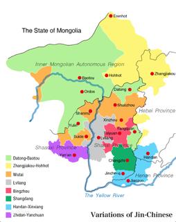 Zhangjiakou–Hohhot dialect