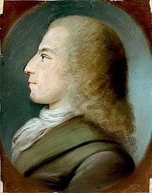 Johann Daniel Falk, Pastell eines unbekannten Künstlers, um 1800, Gleimhaus Halberstadt (Quelle: Wikimedia)