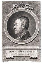Johann Georg Sulzer.