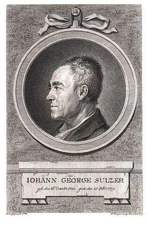 Johann Georg Sulzer - Johann Georg Sulzer.