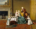 Johann Zoffany (German - John, Fourteenth Lord Willoughby de Broke, and his Family - Google Art Project.jpg