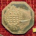 Johann linck, med. di carlo ludovico elettore palatino, 1667, arg. dorato.JPG