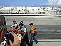 John Andretti jokes with 88 team (2686400756).jpg