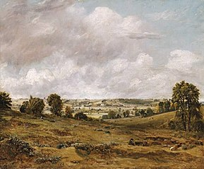 View of Dedham Vale from East Bergholt