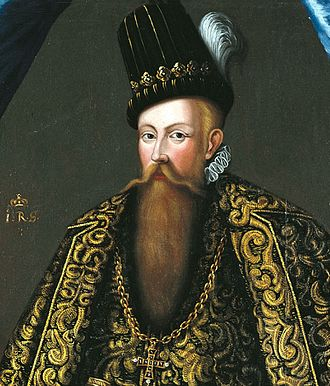 John III of Sweden - John III portraited by Dutch artist Johan Baptista van Uther in 1582.