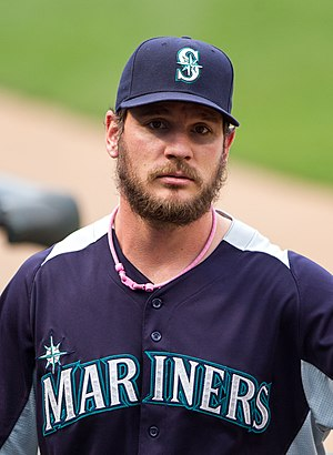 John Jaso - Jaso with the Seattle Mariners in 2012