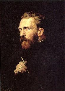 Portrait Of Vincent Van Gogh Painted By John Peter Russell In 1886 Quote His Letter To Theo Sept 1889 Keep Carefully My
