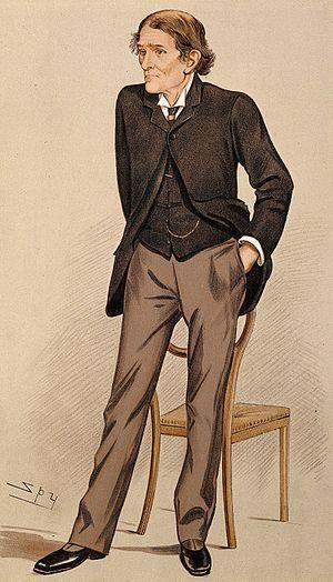 John Burdon-Sanderson - Dr. J Burdon-Sanderson: 1894 Vanity Fair caricature