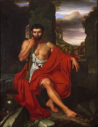 Gaius Marius - Marius Amid the Ruins of Carthage by John Vanderlyn.