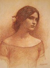 Study of The Lady Clare