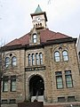 Johnstown City Hall note high water marks - panoramio.jpg