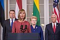Joint Press Conference by the Baltic presidents and the Vice President of United States (35478129993).jpg