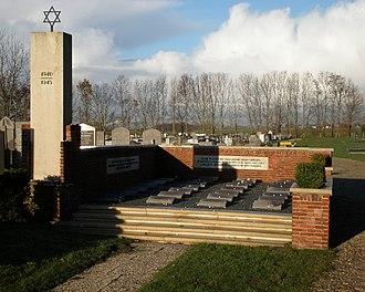 Muiderberg - Image: Joodse Begraafplaats Muiderberg Denkmal 1