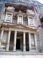 Jordan, Petra. Khaznat el- Faroun or Pharaoh's treasury (The most remarkable monument in Petra).jpg
