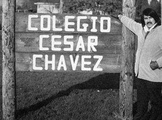 Colegio Cesar Chavez - Jose Romero, co-founder of Colegio Cesar Chavez.