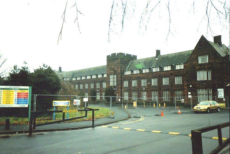 Joseph Guest Hospital Victorian wing.JPG