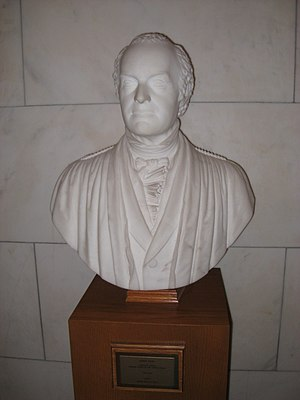 Joseph Story - Bust of Joseph Story, sculpted by his son William Wetmore Story, currently on display at the United States Supreme Court building.