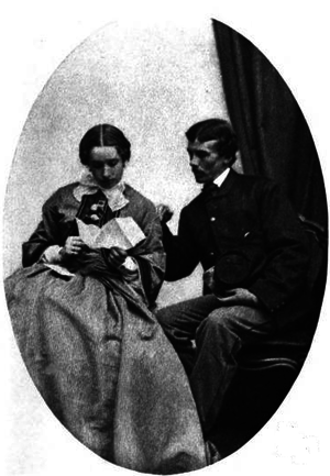 Charles Russell Lowell - Josephine Shaw and Colonel Lowell in 1863