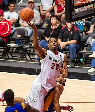 Josh Davis (basketball, born 1991) - Image: Josh Davis San Diego State Aztecs