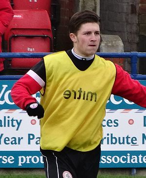 Josh Windass - Windass training with Accrington Stanley in 2014