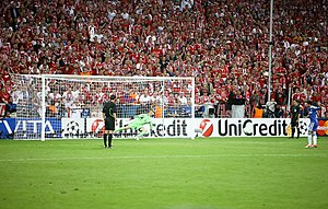 Manuel Neuer - Neuer saving Juan Mata's penalty kick in the 2012 UEFA Champions League Final