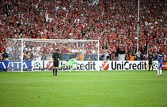 Manuel Neuer - Neuer saving Juan Mata's penalty kick in the 2012 UEFA Champions League Final