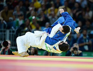 Judo at the 2016 Summer Olympics, Mehdiyev vs Camilo 15.jpg