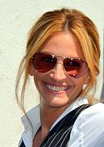 Photo of Julia Roberts at the 2011 Tribeca Film Festival.
