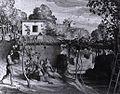 Julius Schnorr von Carolsfeld - The View of the Archpriest in Olevano - WGA21019.jpg