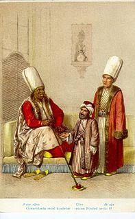 Kapi Agha head of the eunuch servants of the Ottoman Seraglio