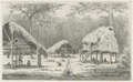 KITLV - 36C192 - Borret, Arnoldus - Indian camp (Kalebas creek), Surinam - Pencil - Circa 1880.tif