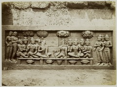 KITLV 27991 - Kassian Céphas - Relief of the hidden base of Borobudur - 1890-1891.tif