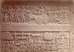 KITLV 90024 - Isidore van Kinsbergen - Reliefs on the Borobudur near Magelang - Around 1900.tif