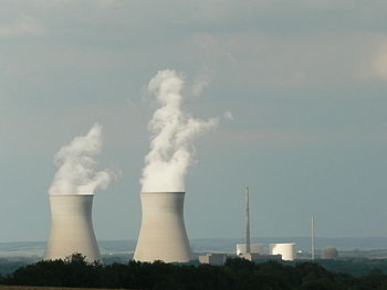 The nuclear power plant