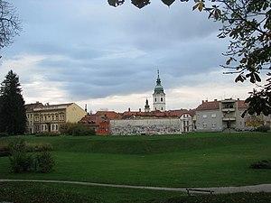 Blick auf Karlovac