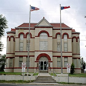 National Register of Historic Places listings in Karnes County, Texas - Image: Karnes courthouse