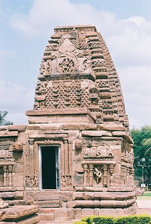 Rashtrakuta dynasty - Kashivishvanatha temple at Pattadakal, Karnataka