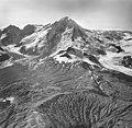 Katmai Glacier, mountain glaciers, icefall, and bergschrund, August 25, 1963 (GLACIERS 7005).jpg