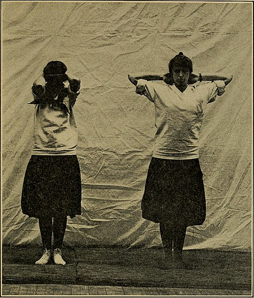 Keeping physically fit; common-sense exercises for the whole family (1916) (14778508091)