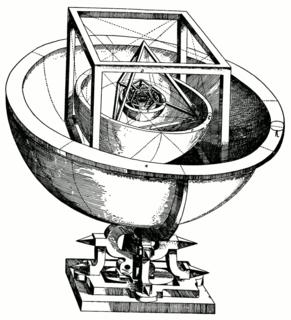 <i>Mysterium Cosmographicum</i> astronomy book