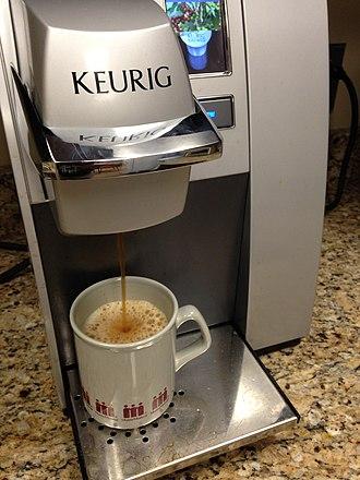 Keurig - A Keurig coffee maker