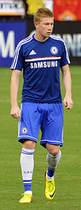 Kevin De Bruyne Chelsea vs AS-Roma 10AUG2013.jpg